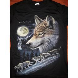 Tričko vlk 1